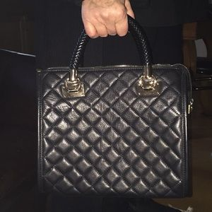 Quilted leather tote MADE IN ITALY